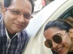 Deepika Padukone S Selfie In Malleshwara Bengaluru
