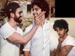 Shahid Kapoor S Brother Ishaan Khattar Gets Himself Inked For His Debut Film
