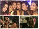 Sargun Mehta Extended Bday Celebrations Girl Gang Sanaya Irani Asha Others Ravi Dubey Sargun Pda