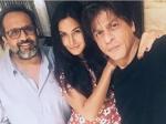 Shahrukh Khan Katrina Kaif Latest Picture Clicked Aanand L Rai Film Sets