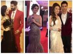 Zee Rishtey Awards 2017 Sriti Jha Ankita Lokhande Divek Surbhi Jyoti Others Rock The Red Carpet Pics