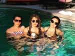 Priyanka Chopra Pool Pics With Girlfriends