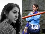 Sara Ali Khan Candid Pictures From The Sets Of Kedarnath