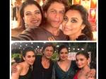 What Was Shahrukh Khan Doing With Kajol Rani Mukherji Sridevi Alia Bhatt And Karishma Kapoor