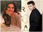 Karan Johar Regrets Insulting Kajol Sent Her The Pictures Of His Babies Here Is How She Reacted