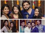 Yeh Hai Mohabbatein Tv Stars At Karan Patel Ankita Bhargava Diwali Bash No Divyanka Anita Pics