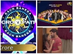 Latest Trp Ratings Kbc Brings Sony Tv To Top Slot Star Plus Drops Bigg Boss Enters The Trp Chart