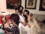 What Breakup Mouni Roy Mohit Raina Celebrated Diwali Together Pics