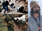 Pranav Mohanlal Stunt On The Sets Of Aadhi