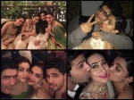 What Catfight Deepika Padukone Bonds With Kareena Kapoor Khan Kisses Karisma Diwali Inside Pictures