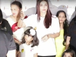 Aishwarya Rai Bachchan Get Teary Eyed Lost Cool At Reporters For Scaring Aaradhya At Father Birthday
