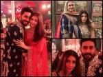 Aishwarya Rai Bachchan Spotted At Wedding With Abhishek Bachchan Shweta Jaya Bachchan Pictures