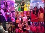 Aishwarya Rai Bachchan Jaya Bachchan Are Smiles Spotted At Wedding Aaradhya Caught Dancing New Pics