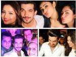 Arjun Bijlani Celebrates Birthday With Tv Beauties Mouni Roy Adaa Khan Drashti Dhami Others Pics