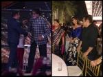 No Aishwarya Rai Bachchan Awkwardness Salman Khan Hugs Amitabh Bachchan Clicks Pics Of Katrina Kaif