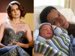 See Pics Kangana Ranaut S Sister Rangoli Is Now A Proud Mommy To A Baby Boy