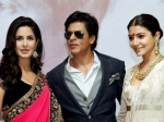 Shahrukh Khan Avoiding Getting Clicked With Anushka Sharma Katrina Kaif Dwarf Movie
