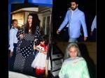 Abhishek Bachchan Protects Aaradhya Aishwarya Rai Gets Angry At The Paparazzi