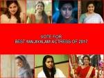 Best 2017 Best Malayalam Actress