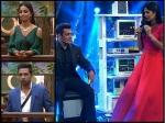 Bigg Boss 11 Salman Khan Roast Hina Khan Puneesh Katrina Kaif Select Akshay Kumar Over Shahrukh Khan
