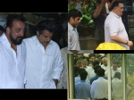 Rip Shashi Kapoor Sanjay Dutt Anil Kapoor Rishi Kapoor Attend The Last Rites