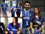 Aishwarya Rai Bachchan Slays As Spotted With Aaradhya Bachchan Abhishek Bachchan Chennai Match Pics