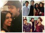 Drashti Dhami Nakuul Mehta Kashmira Irani Vahbiz Ruslaan Attend Alekh Sangal Engagement Pics