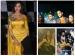Bigg Boss 11 Arshi Khan Grand Bash Vikas Priyank Akash Others Enjoy Sans Hina Shilpa Pics Videos