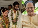Bhavana Naveen Wedding Actor Innocent Was Not Invited