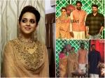 Bhavana Naveen Wedding Recption Photos Mollywood Celebrities