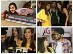 Bigg Boss 11 Puneesh Bandgi Shilpa Vikas Sabyasachi Bday Bash Shilpa Vikas Clarify Marriage Rumours