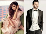 An Interesting Pair Deepika Padukone Approached To Star In Prabhas Bollywood Debut Film