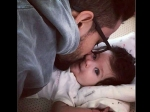 Kiss Of Love This Pic Of Kunal Kemmu Giving A Peck On Daughter Inaaya Naumi S Cheek Is Too Cute