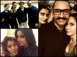 Amidst Catfight Rumours Katrina Kaif Fatima Sana Shaikh Pose Together First Time Wih Aamir Khan Pic