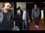Arjun Kapoor Karan Johar Anil And Others Rush To Console Janhvi Khushi Kapoor After Sridevi Death