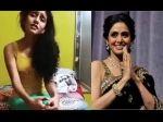 Kabhi Alvida Na Kehna Priya Prakash Varrier Pays An Emotional Tribute To Sridevi