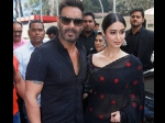 Ajay Devgn Asks Ileana D Cruz Are You Married At The Trailer Launch Of Raid