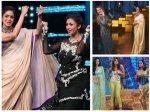 Divyanka Tripathi Danced Bollywood Diva Sridevi Sonakshi Sinha Shweta Tiwari Hawa Hawai Pics