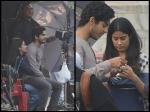 Janhvi Kapoor Makes Ishaan Khattar Sit On Her Lap Dhadak Sets New Pictures Spark Affair Rumours