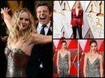 Oscars 2018 Red Carpet Pictures Jennifer Lawrence Emma Stone Gal Gadot Make Heads Turn