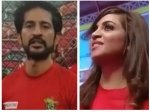 Box Cricket League Say What Hiten Tejwani Just Called Arshi Khan A Bad Luck
