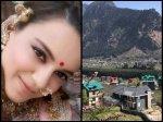 View Of Kangana Ranaut New Manali House Is Breathtaking Make You Forget Srk Mannat Bachchans Jalsa