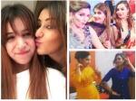 Bigg Boss 11 Arshi Khan Akash Dadlani Have Blast Sapna Choudhary Brother Wedding Shilpa Ben Reunite