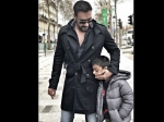 Ajay Devgn Slammed For Setting Wrong Example Fir Son Yug By Smoking Next To Him Viral Picture