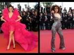 Cannes 2018 Deepika Padukone Charms In Frilly Pink Kangana Ranaut Is Glam In Embroidered Catsuit