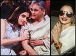 Rekha Comes Between Jaya Aishwarya Rai Bachchan Her Pda For Amitabh Bachchan Irritates His Family