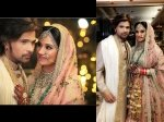 Wedding Pics Himesh Reshammiya Gets Hitched To Girlfriend Sonia Kapoor In A Private Ceremony