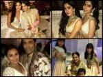 Katrina Kaif Janhvi Kapoor Rani Mukerji Slay At Sonam Kapoor Mehendi Ceremony See Inside Pictures