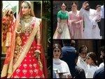 Sonam Kapoor Looks Wow As Bride On Her Wedding Bachchans Kareena With Taimur Arrive At Venue