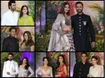 Sonam Kapoor Reception Pictures Aishwarya Rai Shahrukh Ranbir Kapoor Katrina Kaif Alia Bhatt Spotted